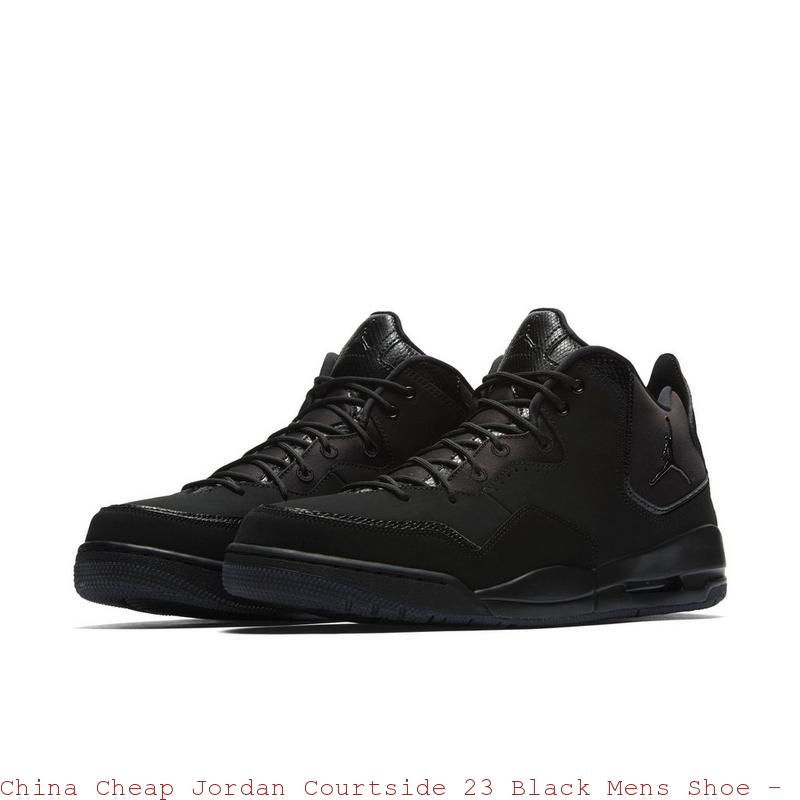 online store 72735 05adf China Cheap Jordan Courtside 23 Black ...