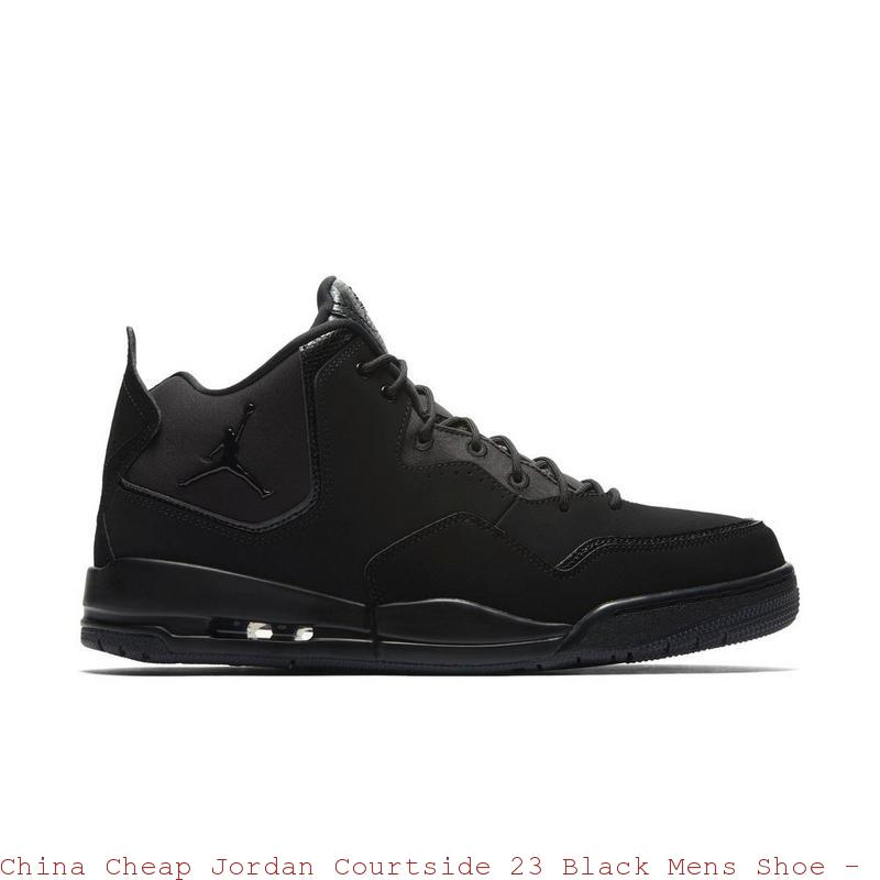 the latest 8cb0c 668af China Cheap Jordan Courtside 23 Black Mens Shoe – cheap jordans 7 ...