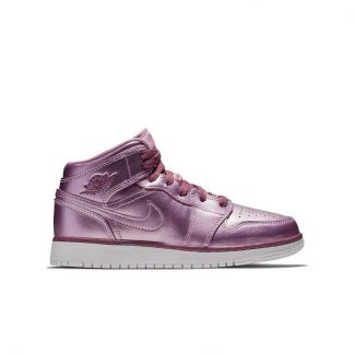 029f3d6d6d374c For Sale Jordan 1 Mid SE Pink Grade School Kids Shoe – michael jordan cheap  shoes – S0385