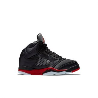 ccd600410f24 ... High Quality Jordan 5 Retro Black Satin Preschool Kids Shoe - cheap  nike shoes online nz - R0249 £70.40  For ...